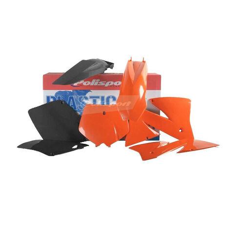 _Kit Plastiche Polisport KTM EXC 01-02 EXCF 01-02 | 90101 | Greenland MX_