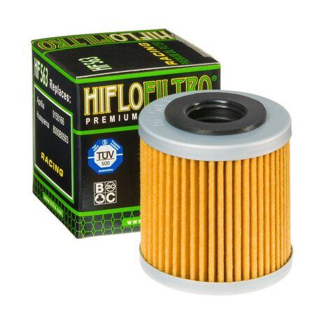 _Filtro Olio Hiflofiltro Aprilia RXV 450 06-12 Husqvarna TC/TE 08-09   HF563   Greenland MX_
