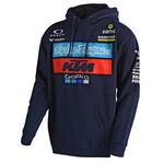 _Felpa con Cappuccio Troy Lee Designs  KTM Blu Scuro | 731644370 | Greenland MX_