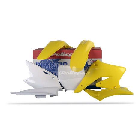 _Kit Plastiche Polisport Suzuki RMZ 250 04-06 | 90096 | Greenland MX_