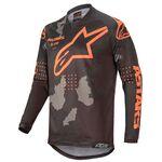 _Maglia Alpinestars Racer Tactical 2020 Nero/Camo/Orange Fluo | 3761220-1144 | Greenland MX_