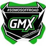 _Adesivo Mini Piastra GMX 5,5 x 5,5 cm   PU-MBFPES-P   Greenland MX_