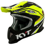 _Casco KYT Strike Eagle Simpson Replica Giallo | KYT-YSEA0018 | Greenland MX_