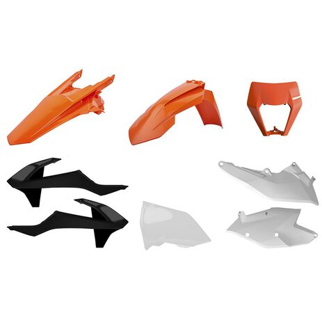 _Kit Plastiche Polisport KTM EXC/EXC-F 17-19 OEM 17-19 | 90884-P | Greenland MX_