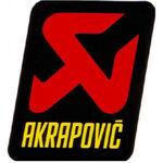 _Adesivo Akrapovic 75x58 mm | SXS07540509 | Greenland MX_