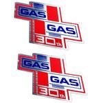 _Coppia di Adesivi Gas Gas 30Th Anniversario | PU00642014 | Greenland MX_