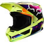 _Casco Fox V1 Gama Giallo | 25472-005 | Greenland MX_