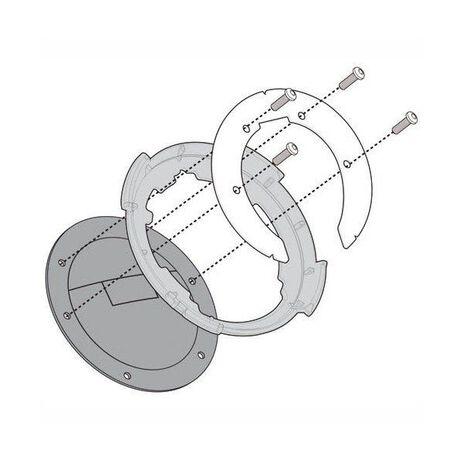 _Flangia Specifica per lUtilizzo di Borse da Serbatoio Tanlock Ducati/BMW/KTM   BF11   Greenland MX_