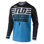 _Maglia Troy Lee Designs GP Air Bolt Celeste | 304190300 | Greenland MX_