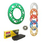 _Kit Trasmissione KTM EXC/SX 83-.. Husq FC/FE 14-.. RK-Gnerik Allum-Gnerik | KT-C117 | Greenland MX_