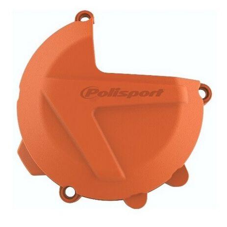 _Protezione Coperchio Frizione KTM EXC/SX 250/300 17-.. Husq. TC/TE 250/300 17-.. Arancione | 8461700002-P | Greenland MX_