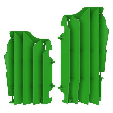 _Kit Griglie Radiatore Kawasaki KX 450 F 16-18 Verde   8457800002   Greenland MX_