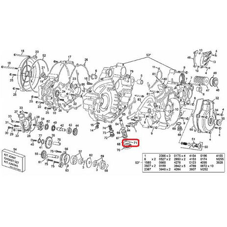 _Albero Motore Hot Rods Kawasaki KX 80 91-00 KX 85 01-05 | 4016 | Greenland MX_