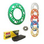 _Kit Trasmissione Yamaha YZ 125 99-04 RK-Gnerik Alluminio-Gnerik | KT-C140 | Greenland MX_