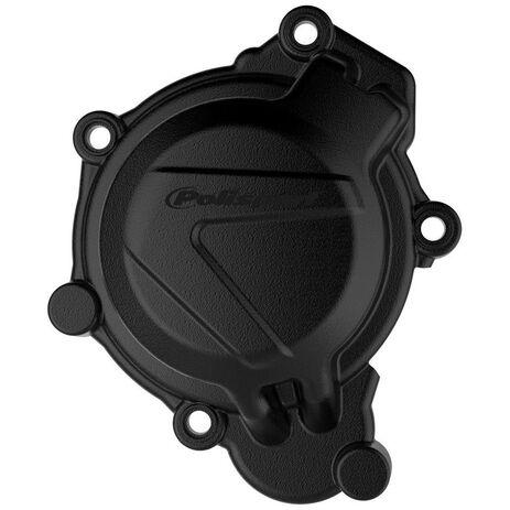 _Protezione Coperchio Avviamento KTM SX 125/150 16-18 Husqvarna TC 125 17-18 Nero   8464100001   Greenland MX_