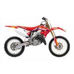 _Kit Adesivi + Copertina Sella Blackbird Réplica Team 2020 Honda CR 125/250 02-07 | 8136R21 | Greenland MX_