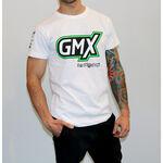 _Maglietta Logo GMX Bianco   PU-TGMX16WT   Greenland MX_