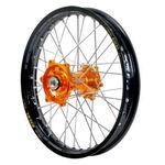 _Ruota Posteriore Talon-Excel KTM SX/SXF 12-.. Husqv. FC/TC 16-.. (Asse 25mm) 12-14 Arancione/Nero | TW693PORBK | Greenland MX_