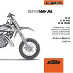 _DVD Manuale di Reparazione KTM DVD 50 SX Mini 09-19 | 3206341 | Greenland MX_