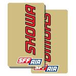 _Adesivo TJ Vinile Trasparente  Forcella Showa SFF Air | TJFSSHSFF | Greenland MX_