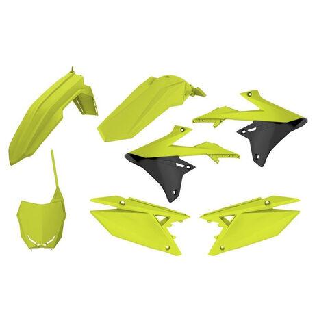 _Kit Plastiche Polisport Suzuki RMZ 250 19 RMZ 450 18-19 Giallo Fluo | 90783 | Greenland MX_