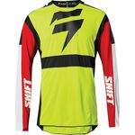 _Maglia Shift 3Lack Label Race Giallo Fluo | 24142-130 | Greenland MX_
