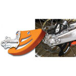 _Protezione Disco Posteriore TMD KTM 04-20 Husqvarna 14-20 Asse 20mm Arancione | RDP-KTM-OR | Greenland MX_