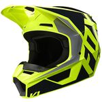 _Casco Fox V1 Nero/Giallo Fluo | 25471-019 | Greenland MX_