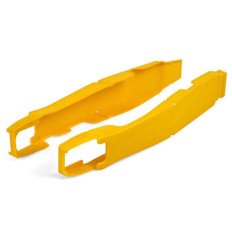 _Protettore Forcellone Suzuki RMZ 250 10-18 RMZ 450 08-17 Giallo | 8457100002 | Greenland MX_