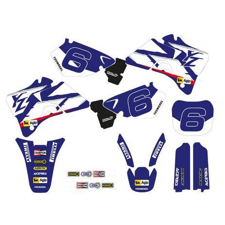 _Kit Adesivi Tecnosel Replica Team Yamaha 1998 YZ 125/250 96-01   22V02   Greenland MX_