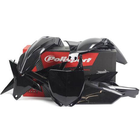 _Kit Plastiche Polisport Yamaha YZ 250 F 14-18 YZ 450 F 14-17 Nero | 90583 | Greenland MX_
