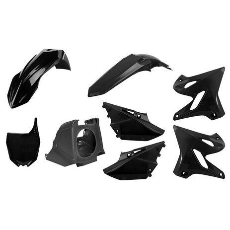 _Kit Plastiche Polisport MX Restyling Yamaha YZ 125/250 02-14 a 15-18 Nero   90718   Greenland MX_