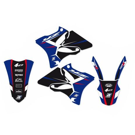 _Kit Adesivi Blackbird Dream 4 Yamaha YZ 125/250 02-14 | 2231N | Greenland MX_