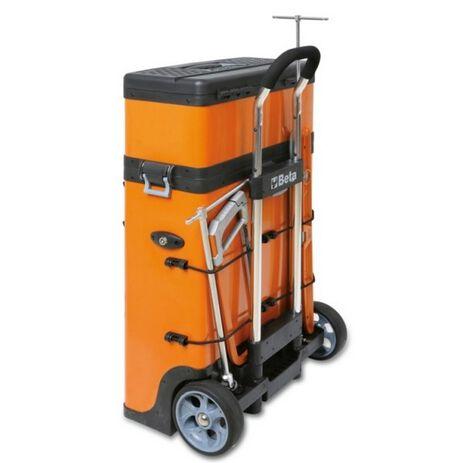 _Trolley Portautensili a 2 Moduli Sovrapponibili Beta Tools | C41H-Y-P | Greenland MX_