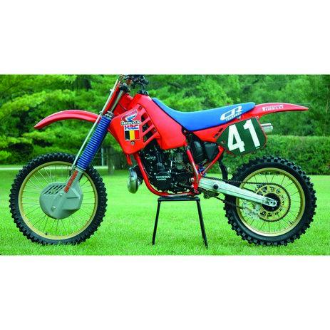 _Kit Adesivi Tecnosel Replica Team Honda 1987 CR 125 87-88 CR 250 1987 | 21V08 | Greenland MX_