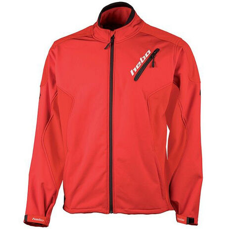 _Giacca Antivento Hebo Baggy Soft Shell Rosso   HE4260R   Greenland MX_