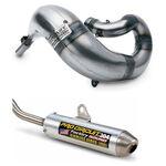 _Tubo Scarico Completo Pro Circuit Works Kawasaki KX 500 89-04 | ECPC-WKX50089 | Greenland MX_