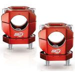 _Alza Manubrio S3 Alluminio 28 mm Rosso | HA-CL13-R | Greenland MX_