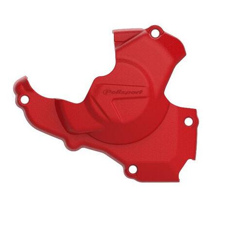 _Protezione Coperchio Avviamento Polisport Honda CRF 450 R 11-16 Rosso | 8461200002 | Greenland MX_