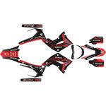_Kit Completo Adesivi  Kit Restyling Polisport Honda CR 125/250 R 02-07 | SK-CR1225PLRKBKWT-P | Greenland MX_