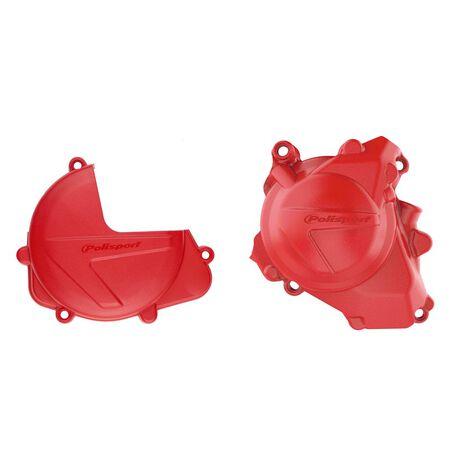 _Protezione Copercchio Frizione e Accensione Kit Polisport Honda CRF 450 R 17-20 | 90962-P | Greenland MX_