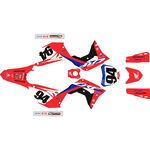 _Kit Completo Adesivi Restyling Kit Honda CRF 450 R 17-20 Roczen Replica 2020   SK-CRF20RC   Greenland MX_