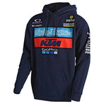_Felpa con Cappuccio Troy Lee Designs  KTM Blu Scuro | 731644370 | Greenland MX_