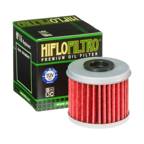 _Filtro Olio Hiflofiltro CRF 250 04-18 CRF 450 02-18 Husqvarna TE 250/310 10-13 | HF116 | Greenland MX_