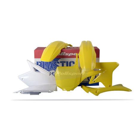 _Kit Plastiche Polisport Suzuki RMZ 250 07-09 | 90123 | Greenland MX_
