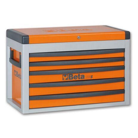 _Cassettiera Portatile con 5 Cassetti Beta Tools   C23S-O-P   Greenland MX_