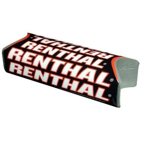 _Protezione Manubrio Renthal Fat Bar Team Issue Nero/Rosso   P311-P   Greenland MX_