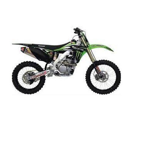 _Kit Adesivi + Sella Team Kawasaki Pro Circuit USA Kawasaki Pro Circuit Usa  KX 450 F 12-14 | DK14450T | Greenland MX_