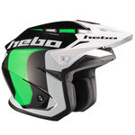 _Casco Trial Hebo Zone 5 Like Verde XL | HC1115VXL | Greenland MX_