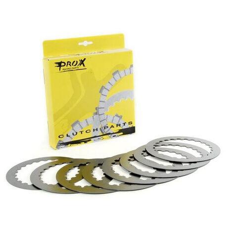 _Kit Dischi Frizione Acciaio Prox KTM EXC 525 04-05 SX 450/525 04-05 Husaberg FE 450/550/650 04-08 | 16.S54009 | Greenland MX_